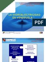 Energía Hidroeléctrica de Venezuela, por Esperanza Colón