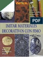 Immitar Materiales Con Fimo