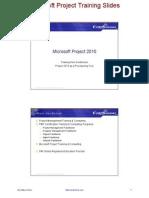msp 2010 course slides