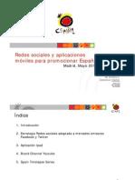Presentación Redes Sociales y Aplicaciones móviles en la estrategia de promoción [Modo de compatibilidad]