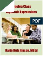 Algebraic Expression Unit