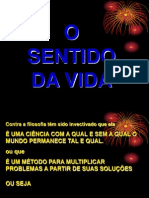 SENTIDO DA VIDA