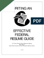 Resume Writing Guide
