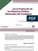 Juicios Para La Proteccion de Los Derechos Politicos de Los Ciudadanos