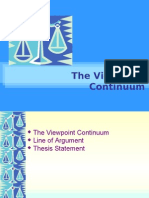 Viewpoint Continuum