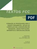 Pesquisa de Bernardete  Gatti_relatório 2009