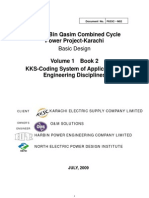 KKS-Coding System of Application in Engineering Disciplines