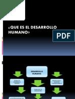 desarrollo humano.