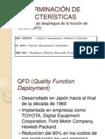 DETERMINACIÓN DE CARACTERÍSTICAS QFD