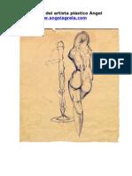 El dibujo de la figura humana de Ángel Agrela