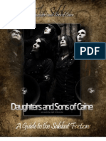 Daughters and Sons of Caine a Guide to the Sabbat Factions Complete