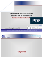Valoraciones Sociales en Venezuela 2011 - Centro Gumilla