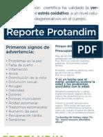 Protandim Insert Flyer Spanish Convers 2011