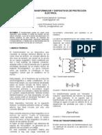 Informe 2 transformador
