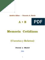 A + B Memoria Cotidiana