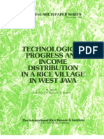 IRPS 55 Technological Progress and Income Distribution in a Rice Village in West Java