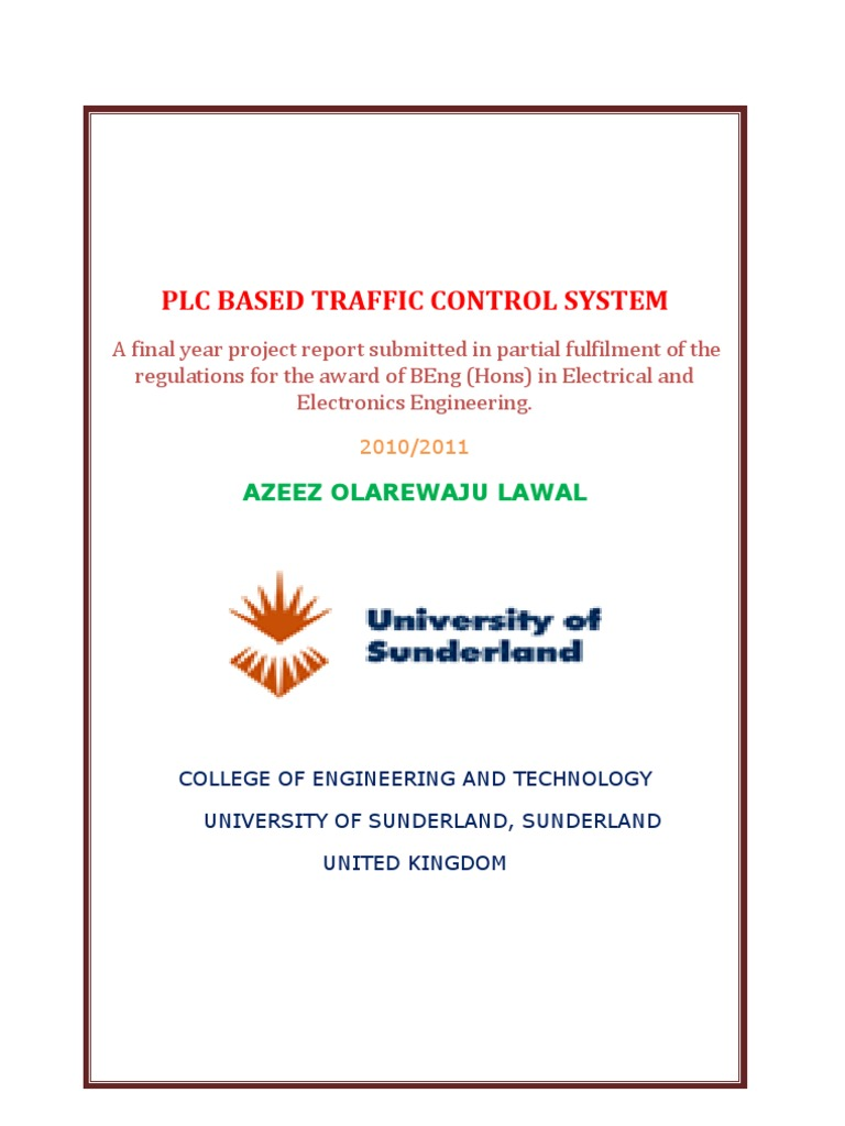 VHDL Traffic Light Controller