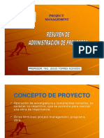 1. Introduccion a La Admin is Trac Ion de Proyectos