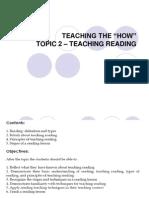 ELT2 Week9_Teaching Reading