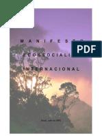 Manifesto Ecossocialista Internacional