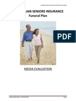 Australian Seniors Insurance Media Evaluation