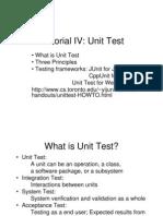 Tutorial4 Unit Test