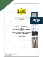 Jadual JKR Kadar-Harga Kontrak Elektrik