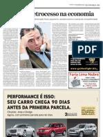 AE - Gestor vê retrocesso  na economia - Luis Stuhlberger - 22.11.09