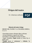 1. Origen Del Teatro