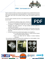 IIT Roorkee Motorsports Newsletter September 2011