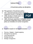 1.Introduction to Business Policy