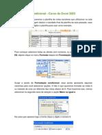 Formatação condicional Excel 2003