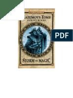 Warhammer - [Storm of Magic 01] - Razumov's Tomb by Darius Hinks (Flandrel & Undead) (v1.0)