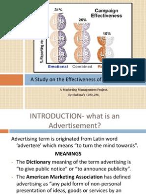 Marketing Management PPT   Advertising   Psychological Concepts
