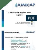 La Visión de las Mujeres en las empresas - AMECAP