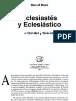 091 Eclesiastes y Eclesiastico Daniel Dore