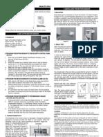 Sky Link Alarm Motion Sensor PS434A_manual