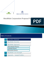 WestWide Presentation for Clients ( IT Staffing )