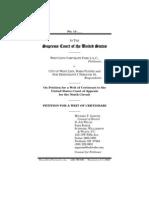 Petition for a Writ of Certiorari, West Linn Corporate Park LLC v. City of West Linn (filed 9-6-2011)