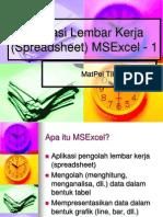 Teori Microsoft Excel 2007