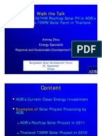 Aiming Zhou - Case Studies of 567KW Rooftop Solar PV in ADB HQ and NED Solar Farm in Thailand