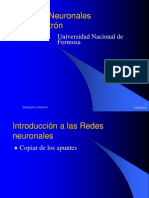 Redes Neuronales - Introduccion