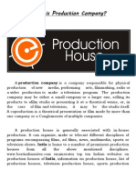 WORKING OF AN AD PRODUCTION HOUSE