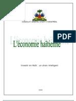 economie haitienne investir