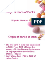 Origin & Kinds of Banks