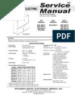 Mitsubishi - Service Manual - Chassis V21