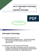 Information & Competitive Advantage