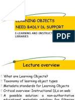 SCSI-X-Learning Object Need DLs Support