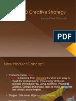 Creative Strategy Energy Drink