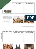 Catholic Pilgrimages Colored